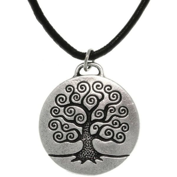 Carolina Glamour Collection Antiqued-pewter 'Tree of Life'... ($16) ❤ liked on Polyvore featuring men's fashion, men's jewelry, men's necklaces, necklaces, jewelry, white, mens celtic cross necklace, mens cord necklace, mens pendant necklace and mens long necklaces