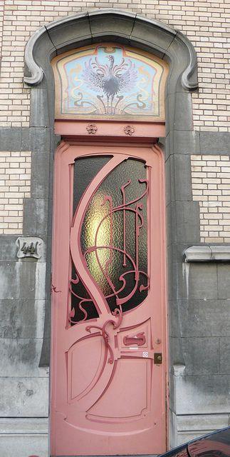 Bruxelles art nouveau (Belgique), rue de Belle Vue / Bellevue straat