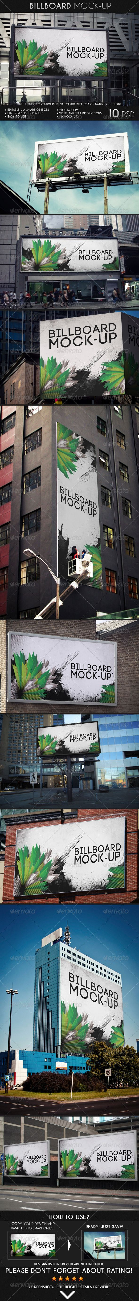 Billboard Mock-Up - Miscellaneous Print