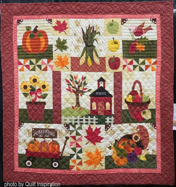 Blessings Of Autumn Quilt Inspiration In 2020 Fall Quilts Quilts Shabby Fabrics