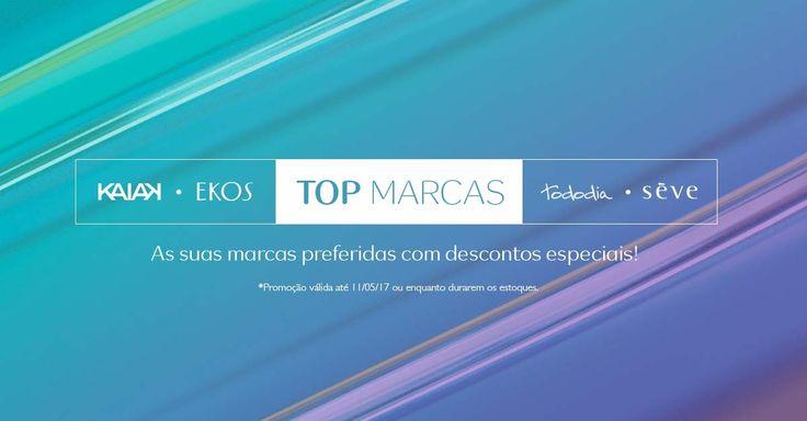 Flavia&Carlos Divulgações!!!: Top Marcas descontos Especiais