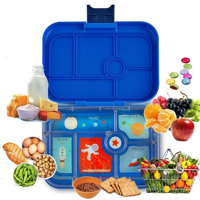 Im Bild Yumbox Panino Lunchbox Mit 4 Abgedichteten Fachern Kinder Bentobox Brotbuchse Brotdose Fur Gesundes Essen In D Essen In Der Schule Brotdose Bentobox