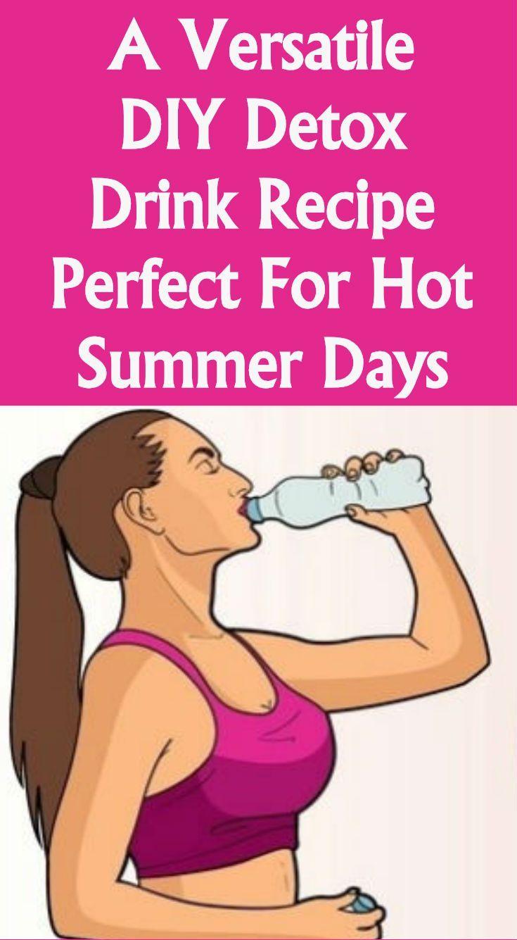 A Versatile Diy Detox Drink, Recipe Perfect For Hot Summer ...