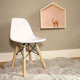 Silla Eames Mini Blanca by Chic And Clic | BelandSoph.com