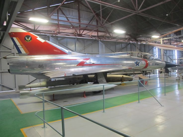 A South African Air Force Mirage IIIBZ on display at the South African Air Force Museum on AFB Swartkop