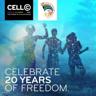 Happy Freedom Day South Africa - United we stand! #CellC #Mzansi #FreedomDay