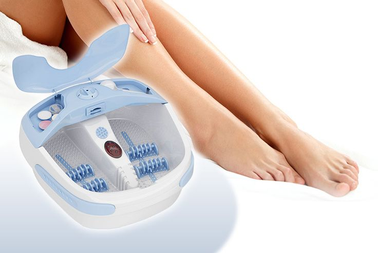 Carmen by Samantha Deluxe Multi-Function Foot Spa deal in Skincare Treat yourself to a deluxe foot spa.  From TOWIE star Sam Faiers's Carmen by Samantha range.  With four vibrating massage rollers and a bubbling function.  An aroma diffuser and nail dryer.  And a multi-attachment pedicure tool.  Sit back, relax and treat your trotters! BUY NOW for just £39.00 Check more at http://nationaldeal.co.uk/carmen-by-samantha-deluxe-multi-function-foot-spa-deal-in-skincare/