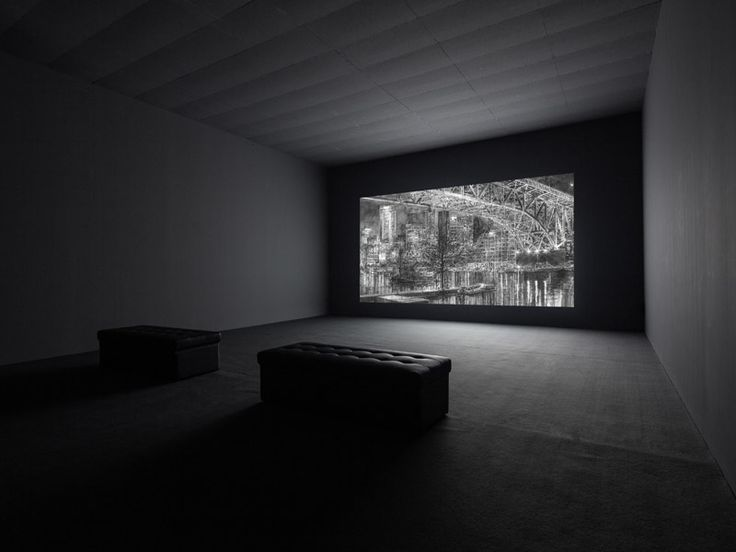 Hans Op de Beeck, Night time, 2014, Full HD video, music, 15 minutes 30 seconds. Galleria Continua Beijing, 2014. Photo by Oak Taylor-Smith.