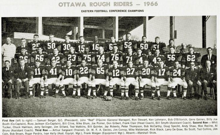 1966 Ottawa Rough Riders