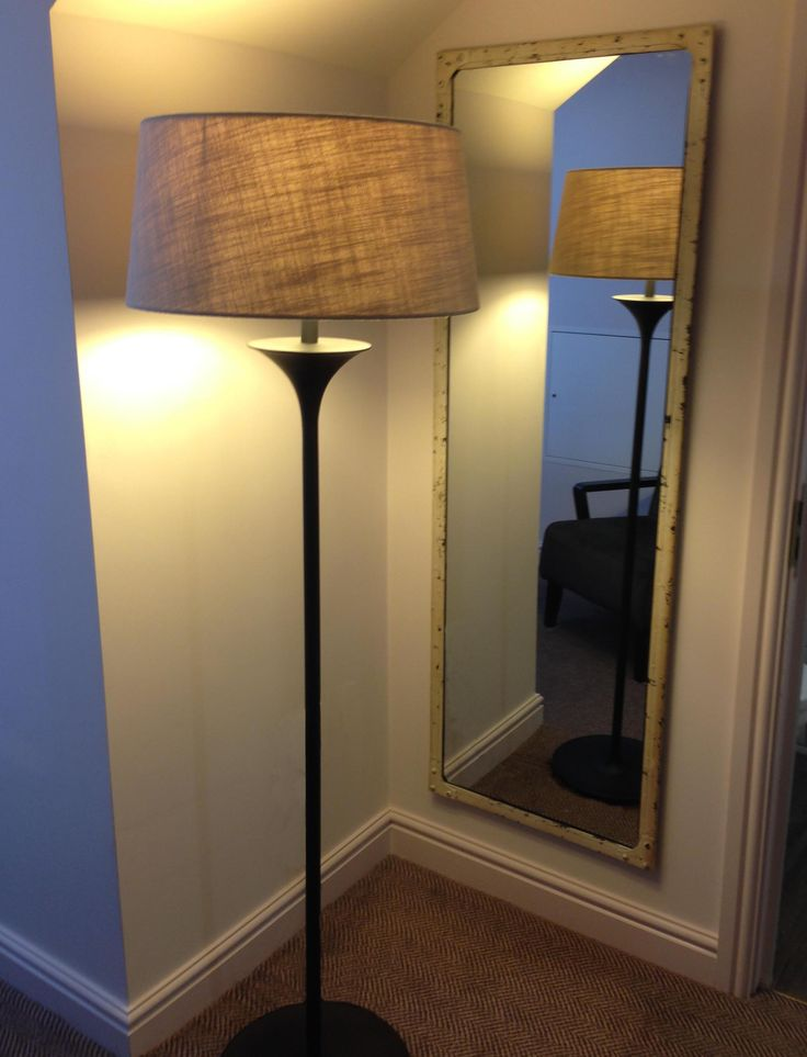 Steel Magnolias Tall Mirror in the Antique White finish, at the Best Western Monkbar Hotel, York