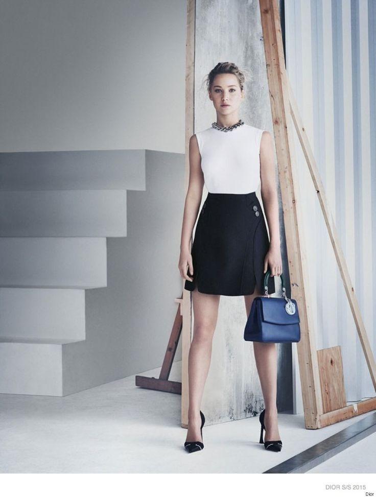 Jennifer Lawrence, sublime dans la nouvelle campagne de Dior (PHOTOS)