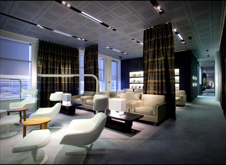 Jet Airways' First Class and Première Lounge, Brussels