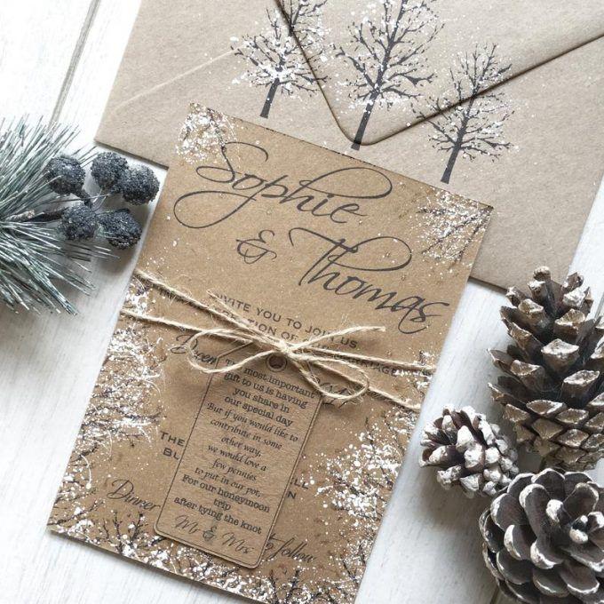 20 besten Hochzeitsideen für den Winter auf Etsy   – HANDMADE WEDDING