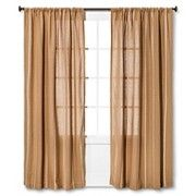 Nate Berkus™ Burlap Stripe Curtain Panel