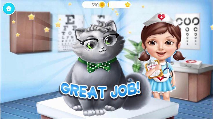 Детская игра Милая малышка Приют для котят | Игры для детей на андроид п...