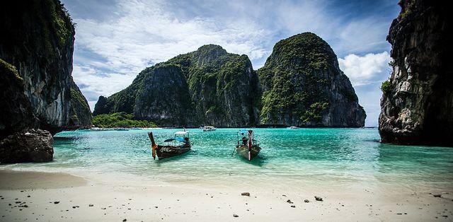 Phi Phi szigetek - Világutazó