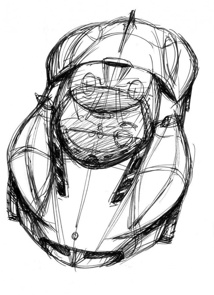 Ken Okuyama Design kode9 Concept Design Sketch