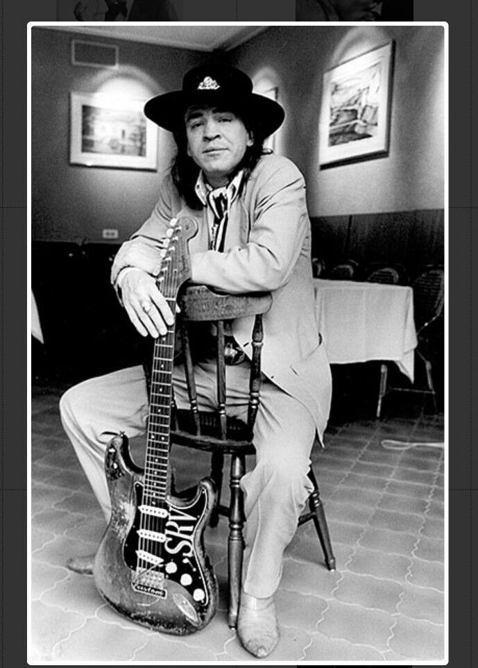 Stevie Ray Vaughan - Photo session in Paris France - 23 Sep 1986. Photo credit: Christian Rose/Dalle/IconicPix