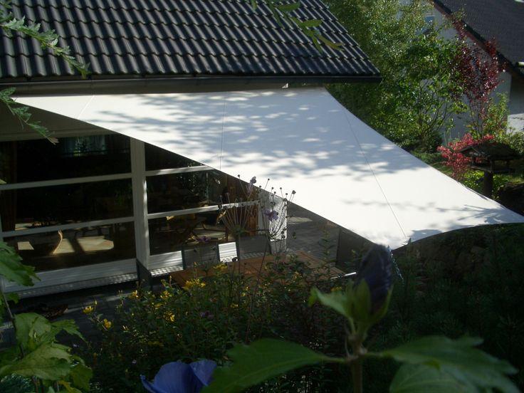 Seilspannsonnensegel im #Garten