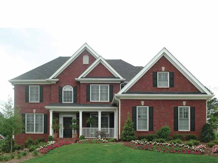 Best 25+ Traditional House Plans Ideas On Pinterest | 4 Bedroom