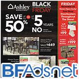 We just posted the 19-item, 4-page Ashley Furniture Black Friday ad scan!