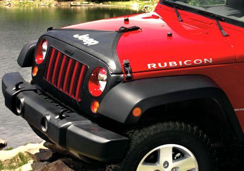Jeep Accessory - Mopar OEM Jeep Wrangler 2-Pc Front End Cover