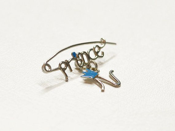 Princ baby pin by zOOzART on Etsy