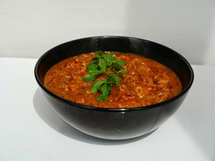 Cudza Kuchnia: Majowy sos do spagetti - wersja wzbogacona o przep...