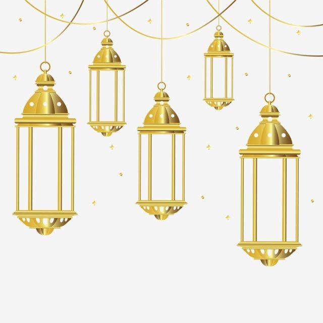 Golden Lantern Background Eid Ramadan Kareem Png And Vector With Transparent Background For Free Download In 2020 Mandala Effect Lanterns Ramadan Images