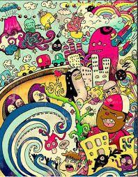 dibujos psicodelicos de colores - Buscar con Google
