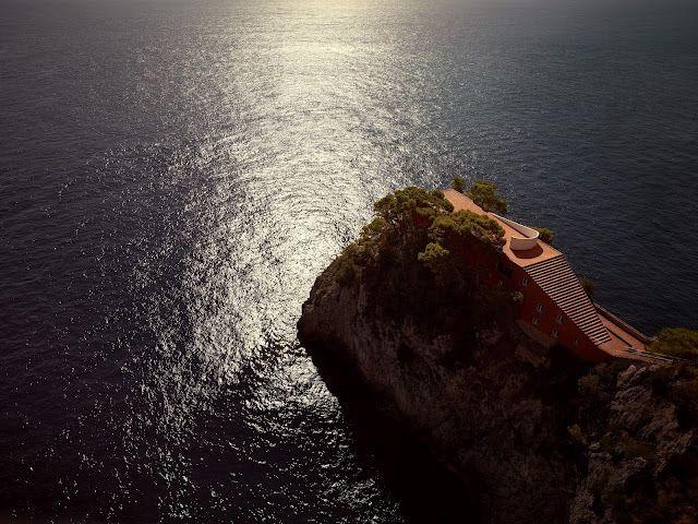 Villa Malaparte, Capri. Adalberto Libera