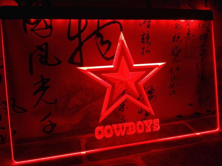 Dallas Cowboys NR Super Bowl LED Neon Light Sign home decor crafts
