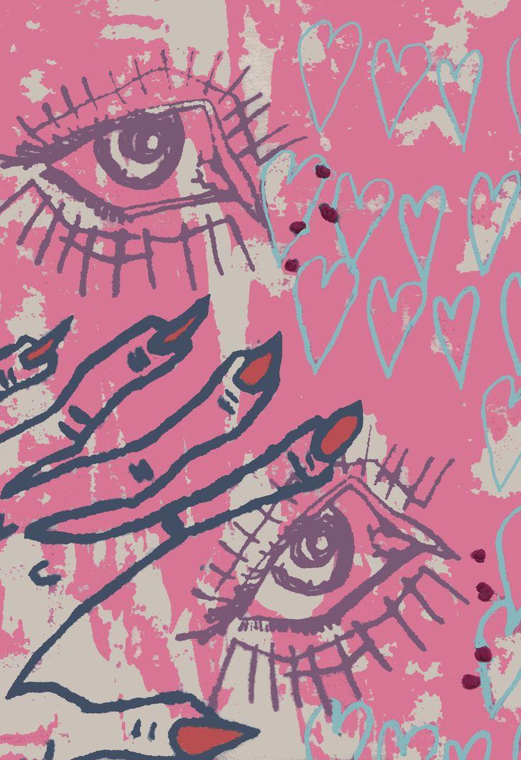 KATE HARVEY textile design