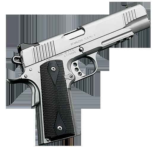 Kimber 1911 Stainless TLE/RL II - A stainless steel version of the duty pistol carried by LAPD® SWAT, plus the integral Kimber Tactical Rail™