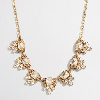 J.Crew+Factory+-+Crystal+accent+necklace