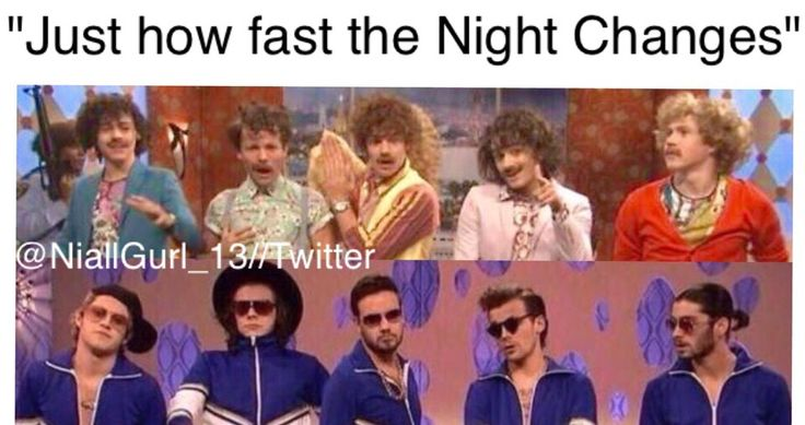 STOP IT STOP IT ALL OF THESE REFERENCES TO NIGHT CHANGES WITH OLD & NEW PICS OF THE BOYS ARE MESSING WITH MY FEELINGS