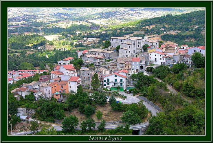 Cassano Irpino, Italy - village where my family is from (Cieri = Gero) Just NorthEast of Salerno