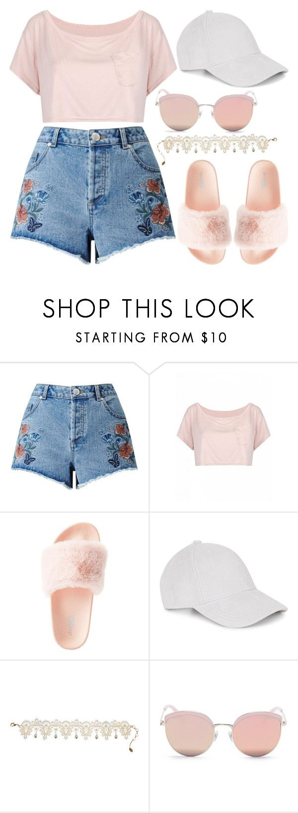 """1355."" by asoul4 on Polyvore featuring Miss Selfridge, Charlotte Russe, Le Amonie, Amrita Singh and Stephane + Christian"
