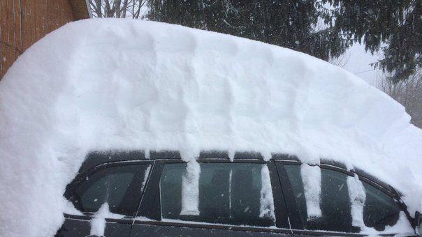 Snow car tall