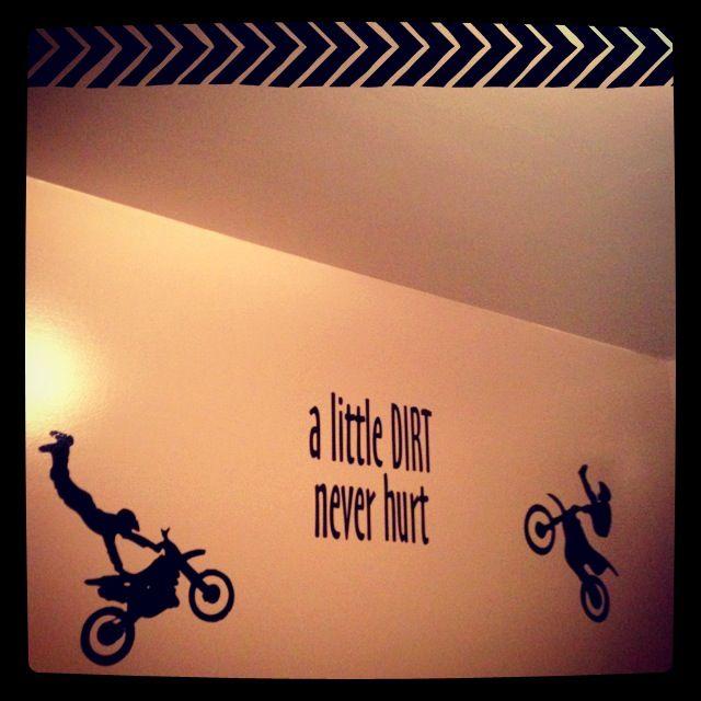 Love the dirt bikes....