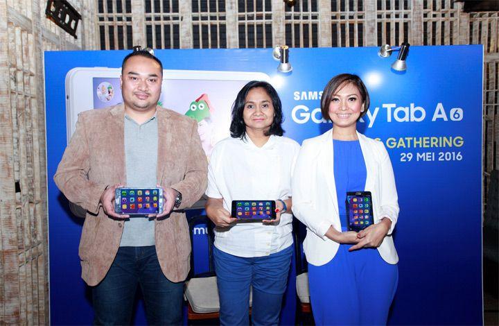Samsung GALAXY Tab A 2016 Maksimalkan Penggunaan Teknologi Digital bagi Ibu Modern