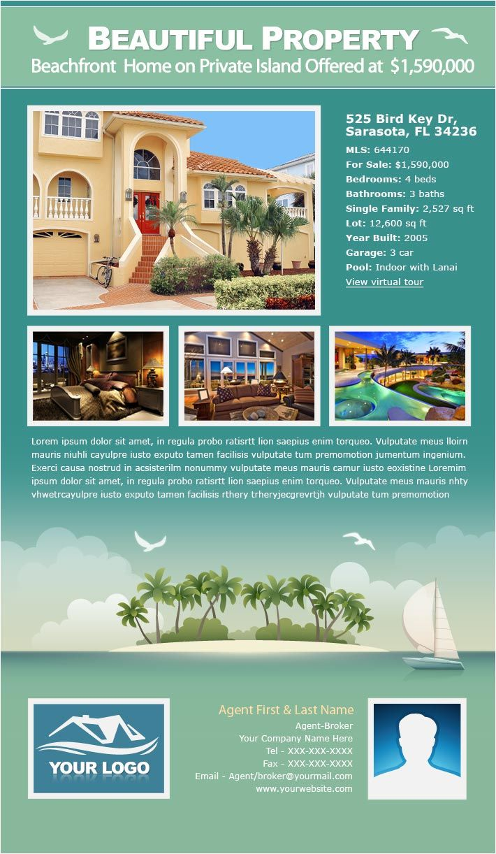 17 Best images about New Real Estate Email Flyer Designs on ...