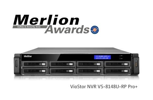 QNAP VioStor NVR VS-8148U-RP Pro+ Wins Merlion Awards at Safety & Security Asia 2014