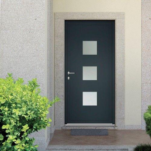 1000 id es propos de porte d entr e alu sur pinterest for Porte d entree aluminium castorama