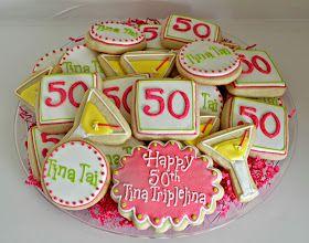Hello Cupcake!: 50th Birthday Martini Cookies