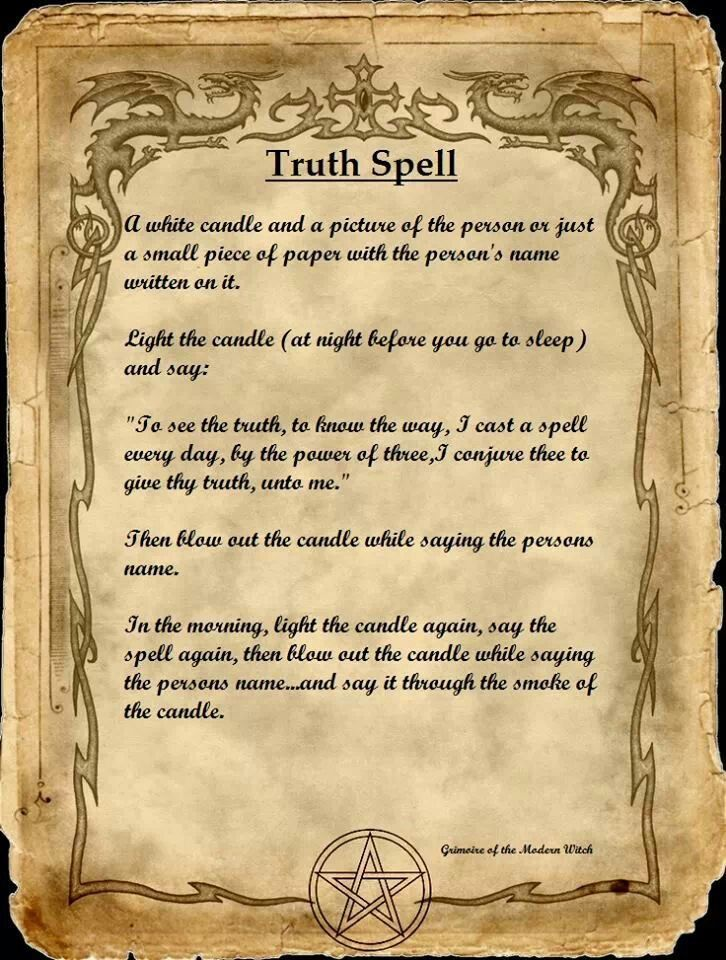 Truth Spell                                                                                                                                                      More