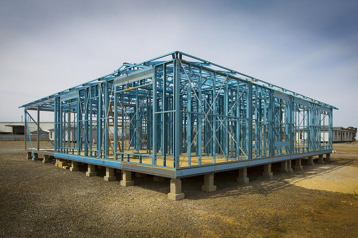 Allsteel Transportable Homes' Supaloc steel frame http://spr.ly/6499DEajz  #AllsteeltransportableHomes #Superloc #TRUECOREsteel #SteelFrameHousing