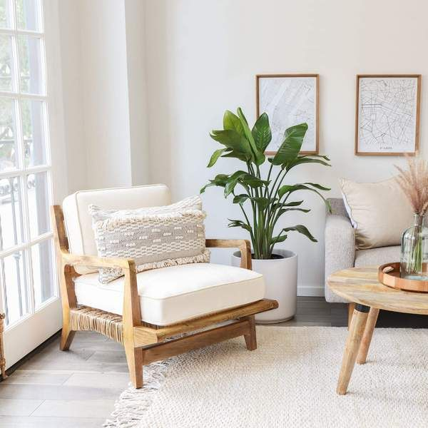 Pin By Michelle Legacy On Locklin Reno In 2020 Accent Chairs For Living Room Rattan Furniture Living Room White Living Room Chairs #rattan #chair #living #room