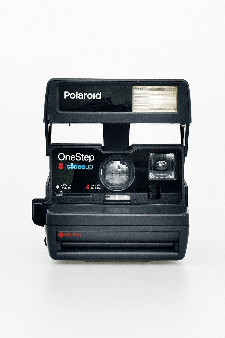 Refurbished '80s-Style Polaroid 600 Camera and Film Set. I WANT ITTTT