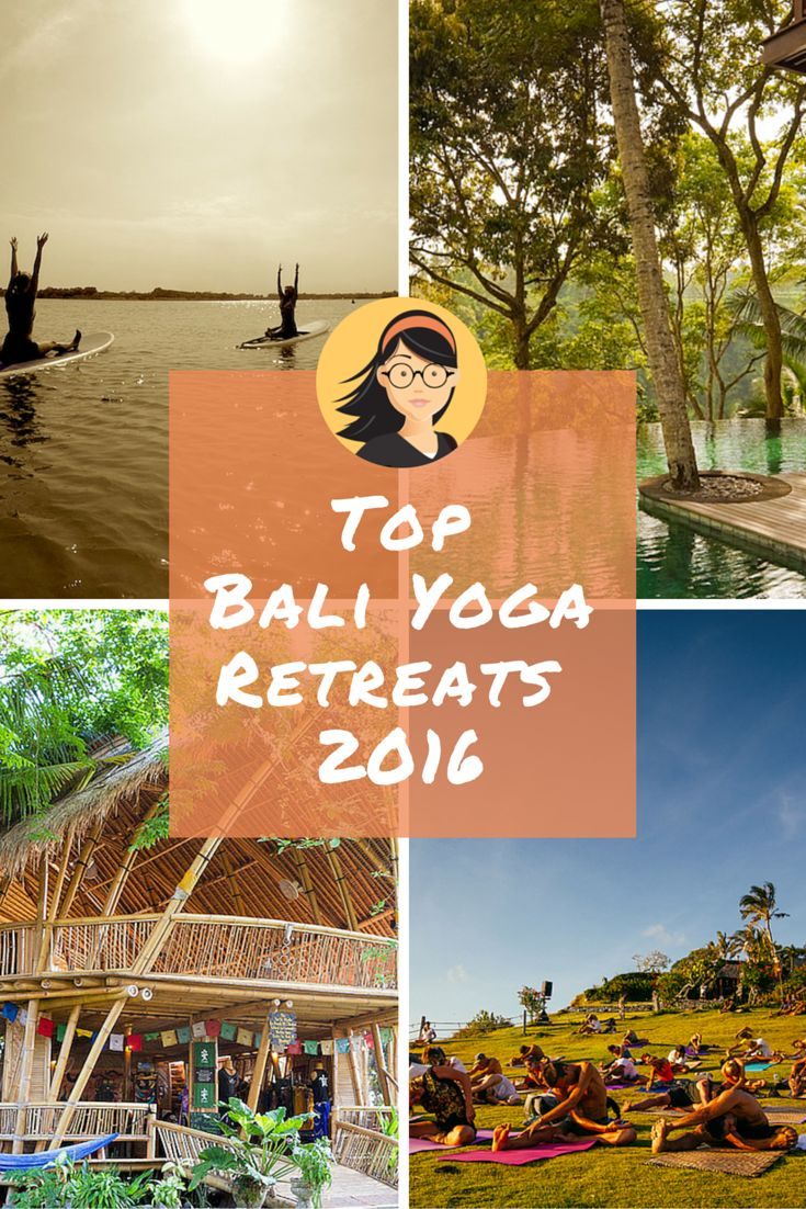 7 Epic Bali Yoga Retreats for Maximum Zen A rice paddy sanctuary, a cliff side studio, and a turtle shaped bamboo pavilion. Yoga in Bali is next level! Prepare to zen out with our list of top #Bali #yoga retreats.